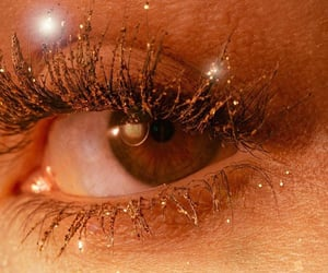 brown eyes, gold, and golden image