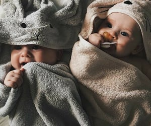 baby, family, and twins image