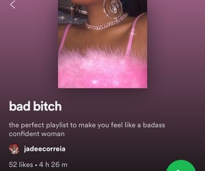 confident, girl, and music image