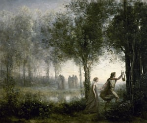 painting, art, and orpheus image