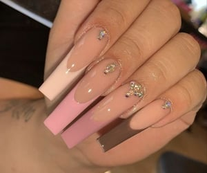 nails, cute, and tips image