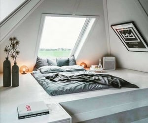 bedroom, home, and minimalistic design image
