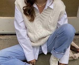 autumn, fashion, and white image