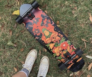 alternative, retro, and skater girl image