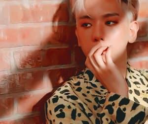 gif and exo beakhyun image