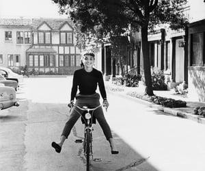 girl, vintage, and audrey hepburn image