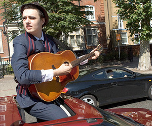 car, pete doherty, and guitar image