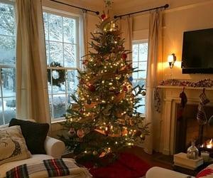 christmas tree, decoration, and home image