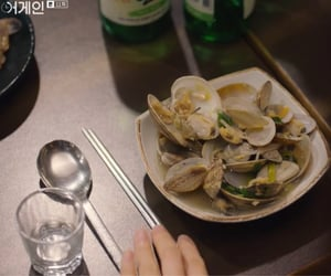 asia, south korea, and clams image