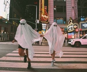 ghost, aesthetic, and Halloween image