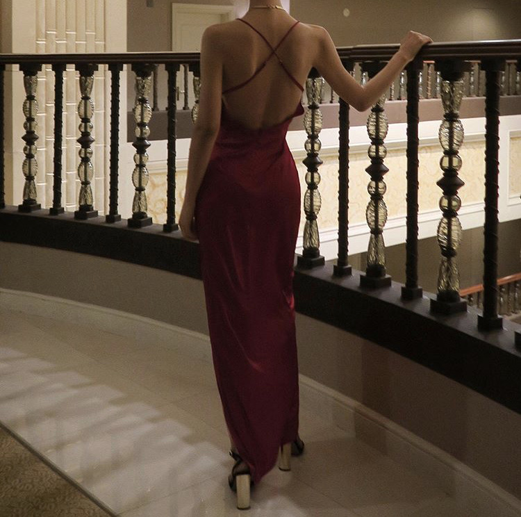 backless dress, outfit inspiration inspo, and chic image