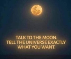 energy, moon, and peace image