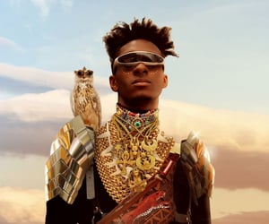 future, Afro, and armour image