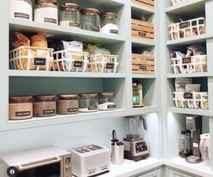 food, kitchen, and organisation image