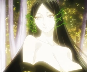 tatiana, queen of fairies, and ancient magusbride image