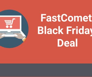 black friday, cyber monday, and hosting image