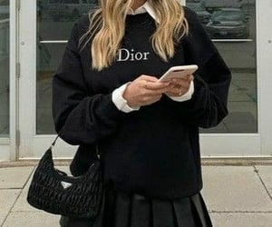 blogger, dior, and fashion image