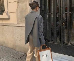 blogger, fashion, and grey blazer image