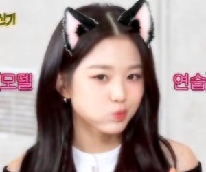 izone, wonyoung, and catgirl image
