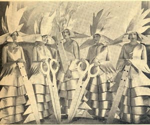 1930s, costumes, and scissors image