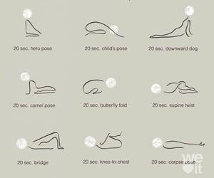 yoga, sleep, and pose image