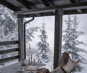 snow, winter, and amazing image