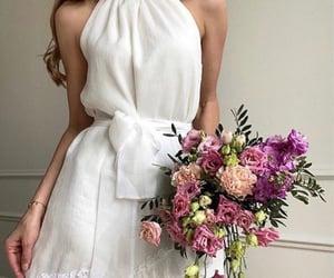 dress, beauty, and fashion image