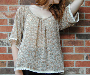 blouse, bohemian, and boho image