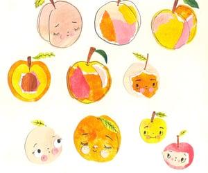 peach, art, and cute image