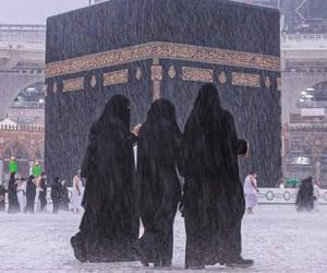 allah, islam, and raining image