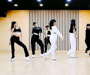 blindfolded, girl group, and kpop image