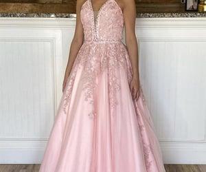 dresses, prom dress, and long prom dress image