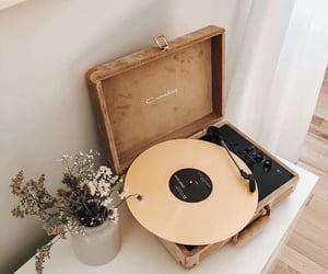 music, aesthetic, and flowers image