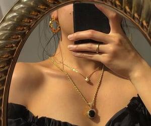 aesthetic, iphone, and jewellery image