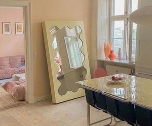 interior, home, and pastels image