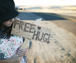 free, hugs, and photography image