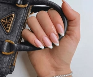 nails, bag, and Prada image