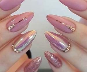 chic, manicure, and nail polish image