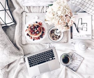 coffee, work, and businesswoman image