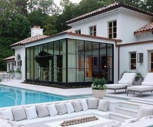 big house, design, and dream house image
