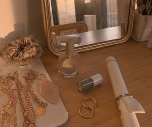 accessories, earring, and gold image