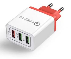 usb mobile phone charger and usb charger power adapter image