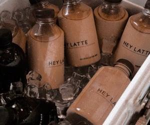 aesthetic, bottle, and beige image