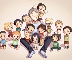 anime, little kids, and cute image