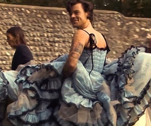 Harry Styles and dress image