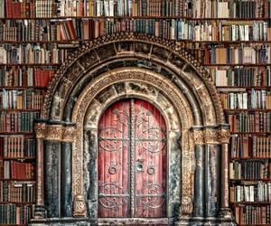 books, fantasy, and gate image