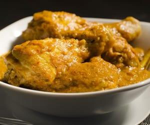 asian food, malaysian food, and nyonya chicken curry image