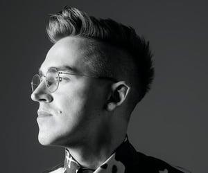 black&white, McFly, and tom fletcher image