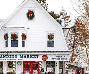 christmas, Maine, and winter image