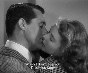 black and white, cary grant, and ingrid bergman image